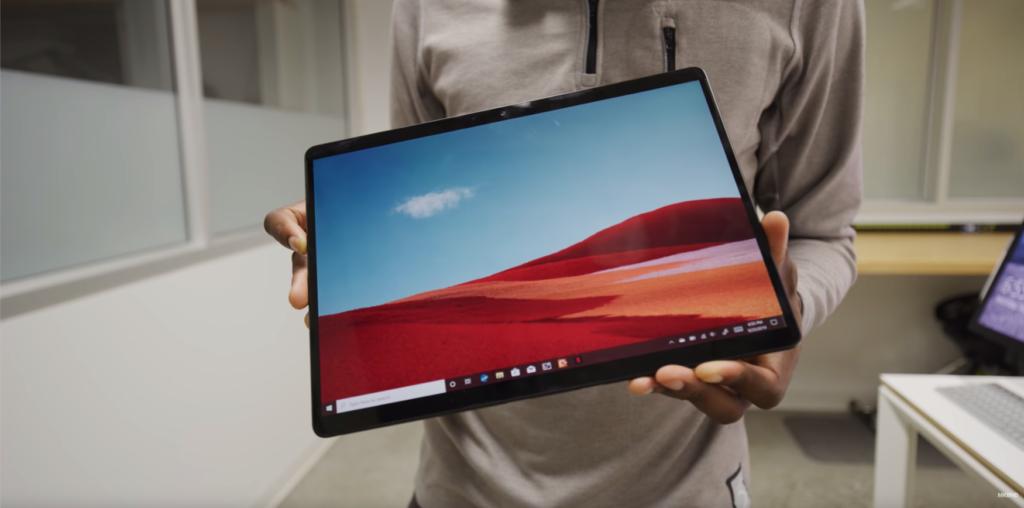 Surface Pro X usb c 2 in 1 ipad microsoft pen slim LTE
