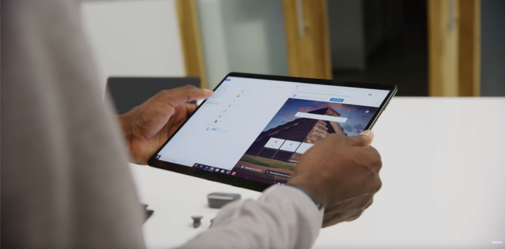 Surface Pro X usb c 2 in 1 ipad microsoft