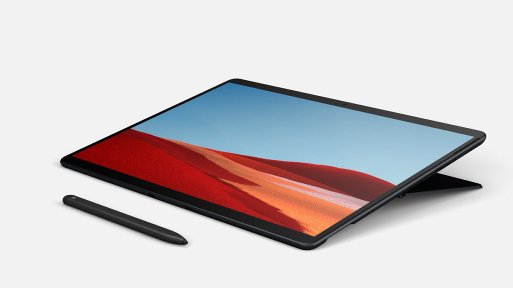 Surface Pro X usb c 2 in 1 ipad microsoft pen slim LTE