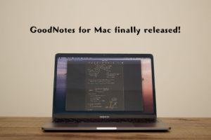 mac goodnotes 5 活用 iPad おすすめアプリ