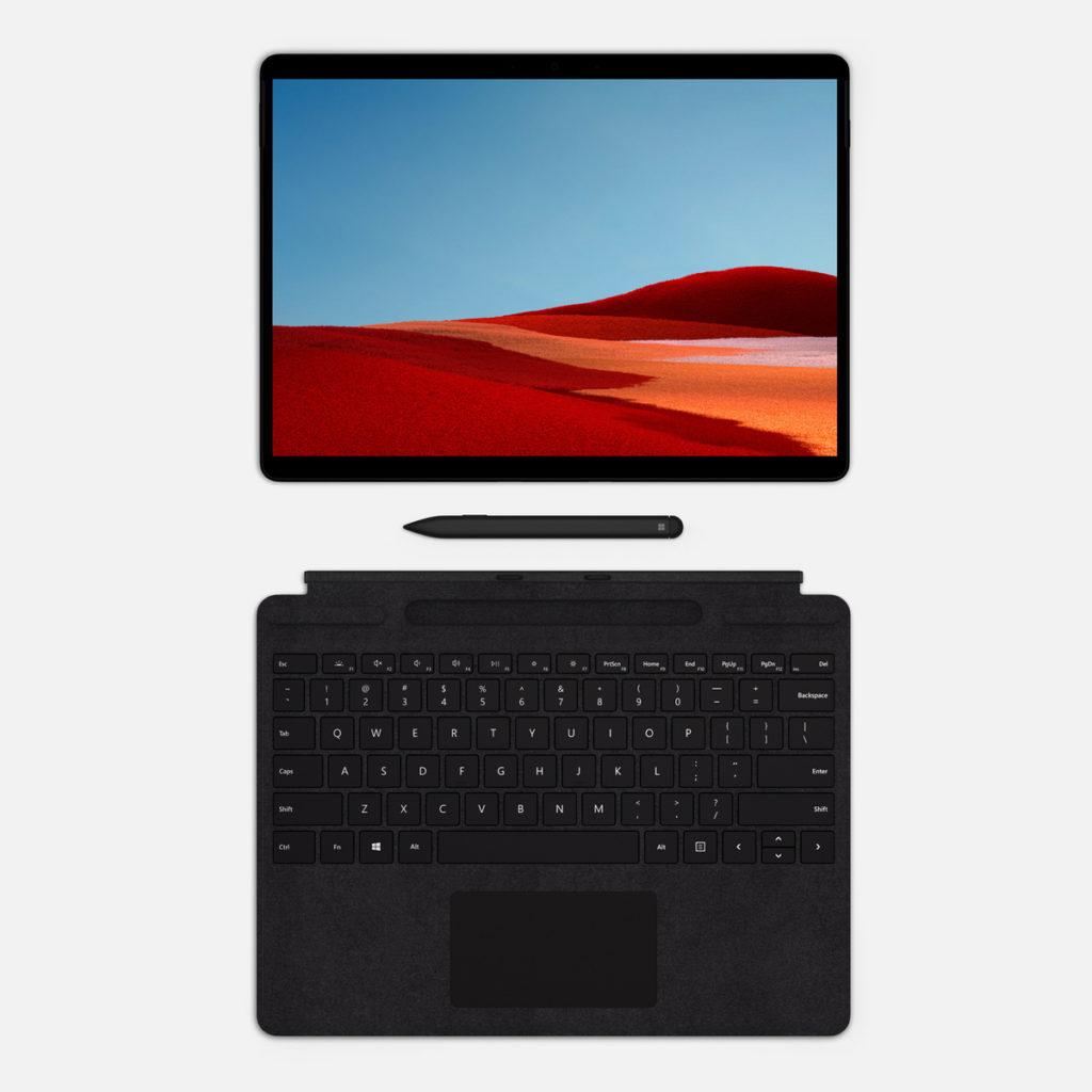 Surface Pro X usb c 2 in 1 ipad microsoft