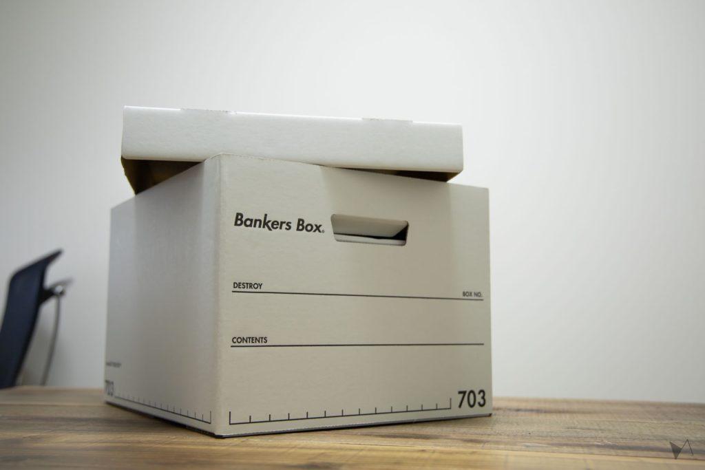 バンカーズボックス