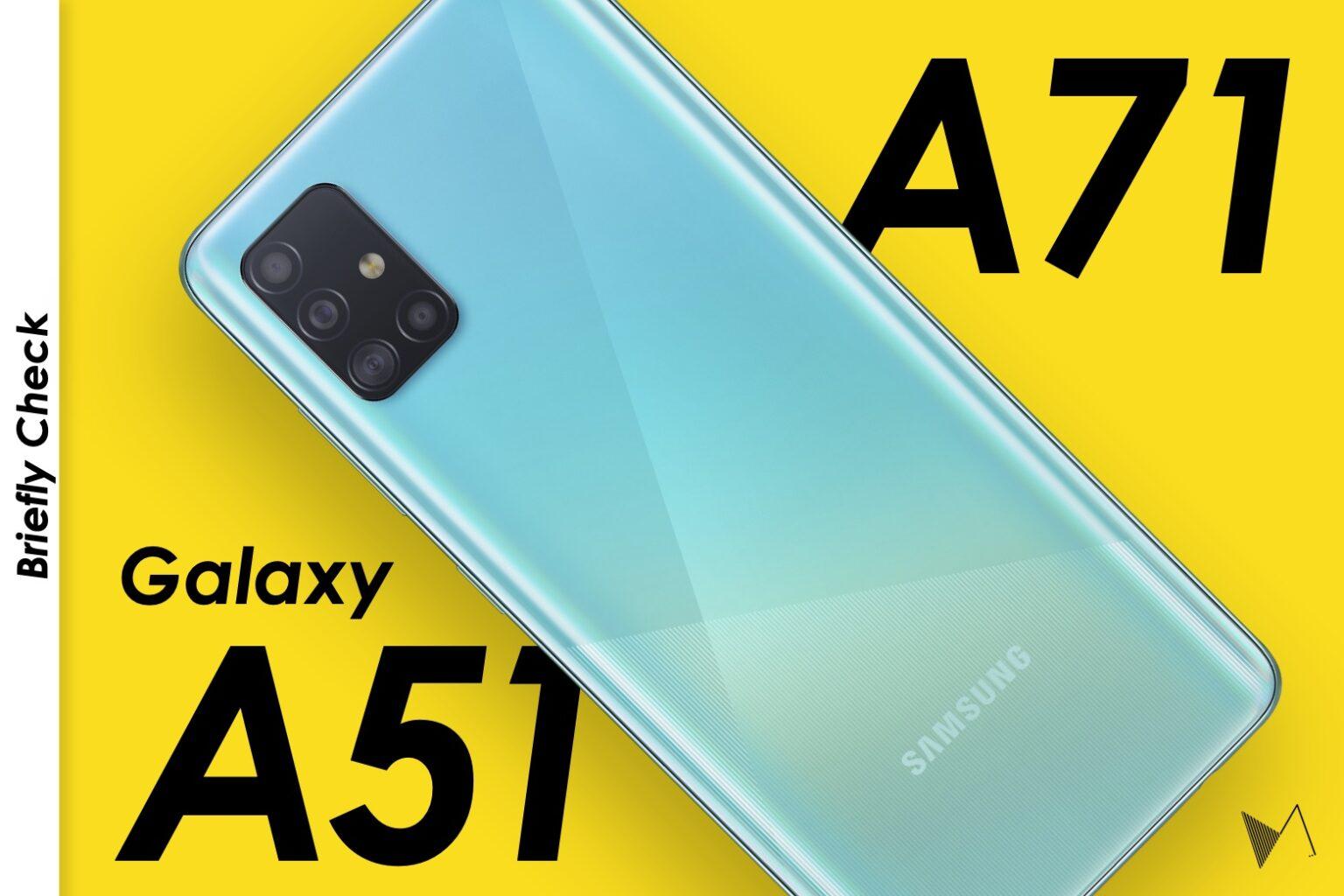 Galaxy A51 A71
