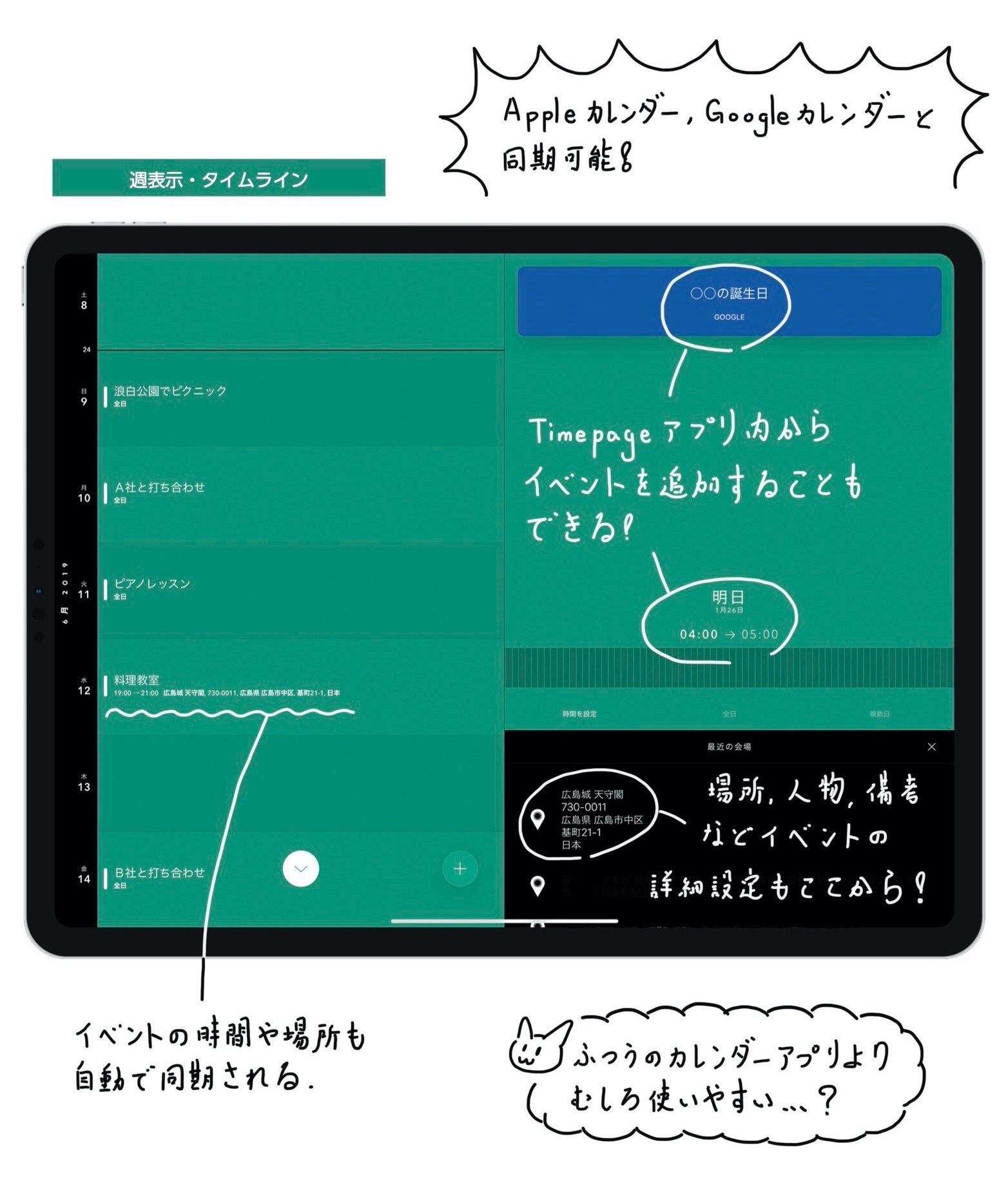 TImepage レビュー