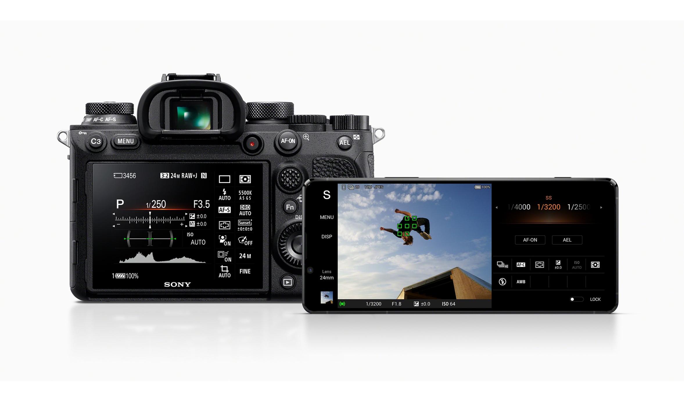 4. 新機能「Photography Pro」ではαシリーズでおなじみのUIを再現