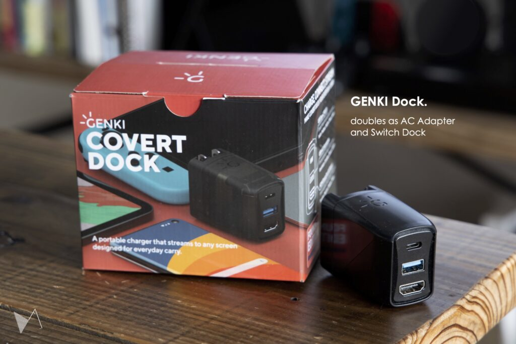 Nintendo switch ドック GENKI Dock