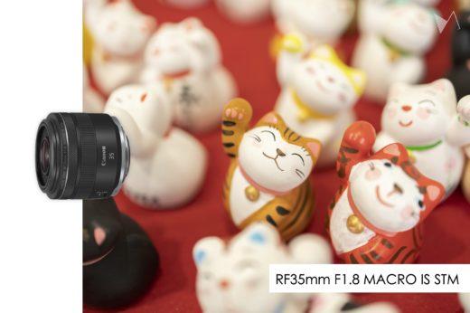 Canon RF35mm F.1.8 MACRO IS STM レビュー - 単焦点だけど出番の多いバランサー