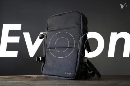 多機能、大容量でポケット充実の2wayバックパック「Evoon」をレビュー【PR】