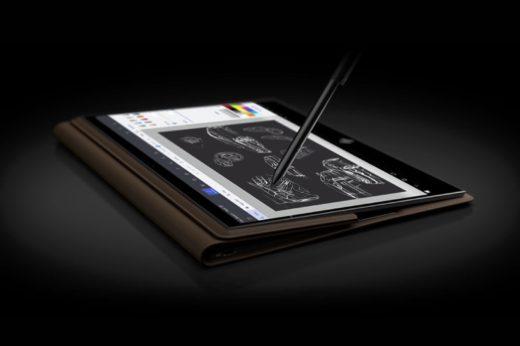 HP Spectre Folio 13|世界初?本格革張りの2 in 1ラップトップ