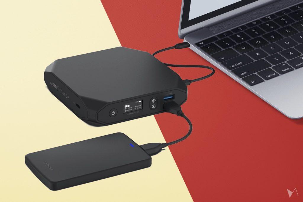 Omnicharge レビュー Omni 20 USB-C+