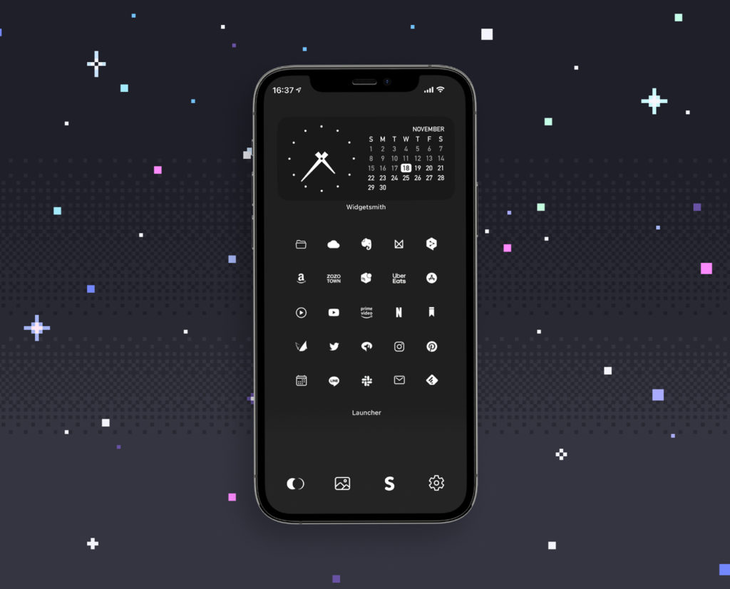ロック 画面 カスタマイズ iphone