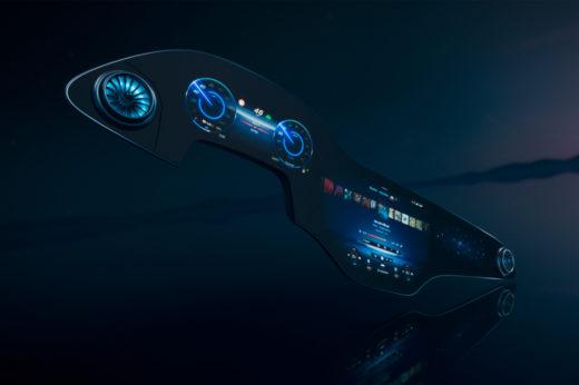 メルセデス・ベンツ、新型EQSに搭載する56インチの巨大タッチスクリーンを発表:CES2021