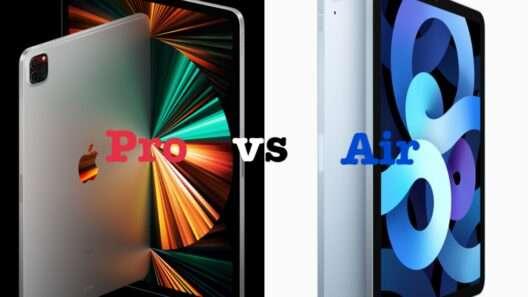 新型iPad Pro vs iPad Air4 学生ならどちらを買うか